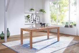 Esstisch Massivholz Akazie 120 Cm Esszimmer Tisch Holztisch