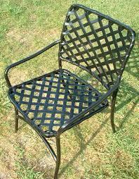 patio furniture repair of vinyl lacing