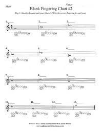 Clarinet Fingering Chart Worksheets Teaching Resources Tpt