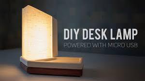 Diy Led Desk Lamp Usb Powered How To Make
