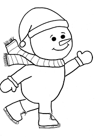 Small Picture Free Printable Snowman Coloring Pages For Kids And Frosty The Es