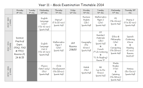 exams y pant school you can the mock exam timetable here