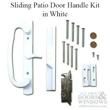 full image for old sliding glass door lock parts pella patio door handle kit thermastar vinyl