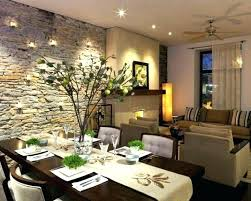 Rustic Chic Dining Room Ideas Wall Decor Living