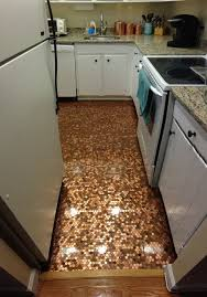 how to install a copper penny floor made in usa diy project pertaining tile ideas 2