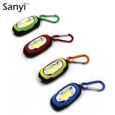 <b>New Arrival Portable</b> Mini Keychain Pocket Torch 3 Modes COB ...
