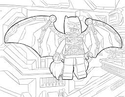 Coloriage Lego Batman Fly Dessin