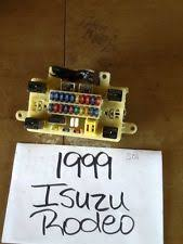 isuzu fuse box 1998 99 00 01 isuzu rodeo interior fuse box sb1
