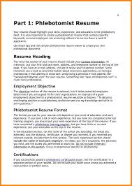 8 9 Skills Of A Phlebotomist For A Resume Lawrencesmeats Com