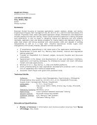 Sample Resume Of Business Analyst In It Industry Resume For Your