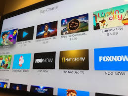 Apple Tv App Store Now Features Top Charts