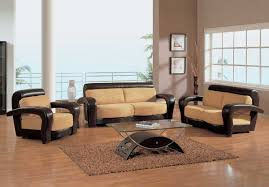 stylish furniture for living room. Dazzling Double Loveseats Of Modern Living Room Completed With Chairs Also Furnished Glass Stylish Furniture For F