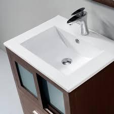 24 Inch Sink Cabinet Vigo Alessandro 24 Inch Bathroom Vanity Contains One White Top