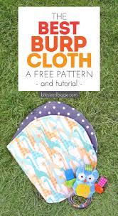 Burp Cloth Pattern Unique Free Burp Cloth Pattern With Tutorial Bite Sized Biggie