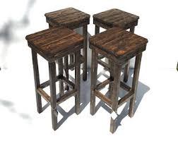 rustic bar stools. Rustic Bar Stool Table Set Vintage Stools Of Farmhouse B On