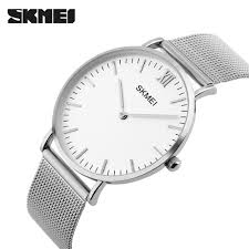 compare prices on mens talking watch online shopping buy low skmei new top luxury watch men brand men s watches ultra thin stainless steel mesh band quartz