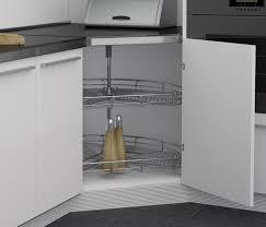 Kitchen Cabinet Carousel Corner Sige Carousel For 45 Angled Door Corner Solutions Herbert