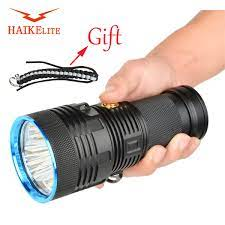 HaikeLite MT09R 3 X XHP70 25,000 Lumens Đèn Pin Công Suất Cao 750 Mét Tầm  Xa Ném Đèn Pha Tìm Kiếm Đèn Pin Đèn Pha Đèn Pin LED