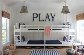 bunk beds four beds kids bedroom