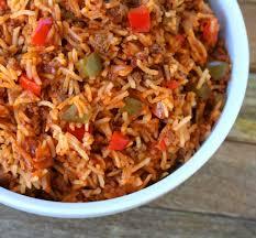 spanish rice. Plain Rice Spanish Rice With