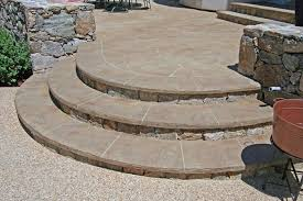 england style steps:  magnificent curved concrete steps magnificent photo gallery concrete walkways acton ma the concrete network