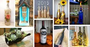 repurposed diy wine bottle craft ideas