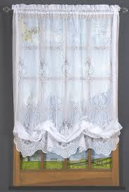 gorgeous sheer balloon curtains decor with vanessa lace balloon shade thecurtain