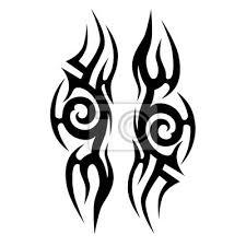Fototapeta Tetování Tribal Vektorové Návrhy Tribal Tetování Tribal Tetování