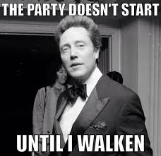 Gotta love a good Christopher Walken meme!! | Giggles | Pinterest ... via Relatably.com