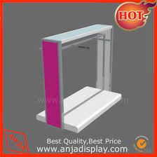 Portable Stands For Display China Portable Rail Shop Display Stands For Hanging Clothes 72