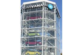 Carvana Vending Machine Houston Extraordinary Carvana tower ready to begin dispensing Jax Daily Record