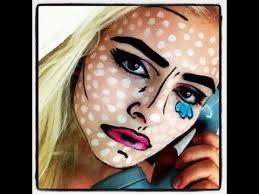 make ic book makeup art tutorial cool