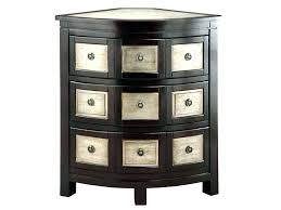 corner accent table with storage image of decor ideas small chest drawers