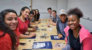 summercamp uic mechanical and industrial engineering high school students participating in the mie summer camp