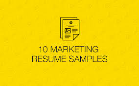 Examples Of Marketing Resumes 10 Real Marketing Resume Examples That Got People Hired At Nike