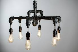 industrial lighting chandelier. Buy A Hand Crafted 6 Edison Bulbs Industrial Lighting Chandelier Light Pendant Lamp L