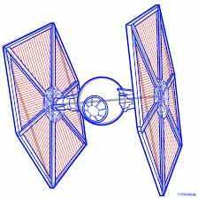 Small Picture How to draw the TIE Fighter from Star Wars with a pencil step by step