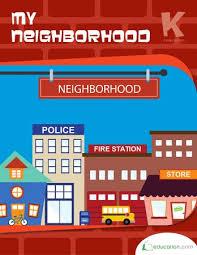 best my neighborhood theme images preschool my neighborhood