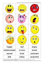 Preschool Feelings Chart Printable Afbeeldingsresultaten Voor Free Printable Smiley Face