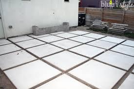 modern concrete patio. Concrete Paver Patio Construction Modern