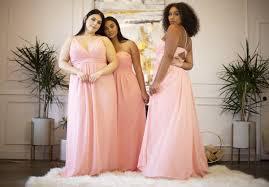 Plus Size Bridesmaid Designers Affordable Plus Size Bridesmaid Dresses Leading Ladies La