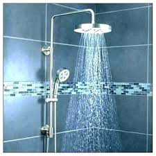delta rain head best shower handheld combo rainfall heads moen ignite