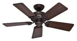 office ceiling fan. Amazon.com: Hunter 52067 Hudson 5-Blade Ceiling Fan With Black Walnut/Medium Oak Blades, 42-Inch, New Bronze: Home Improvement Office U