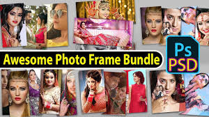new dg psd bundle awesome photo frame templates for photo free vol2 dg psd