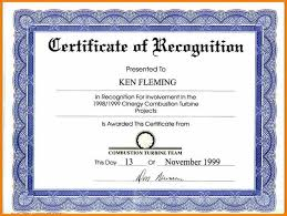 Certificate Of Recognition Wordings Sample Certificate Winning Contest Winning Certificate Wording