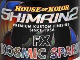 House Of Kolor S2 Fx 66 Shimrin2 Ocean Blue Kosmic Sparks Pearl Effect Pac Fx66