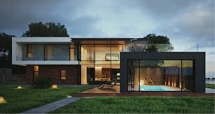Modern house design: Provides a great look of the home