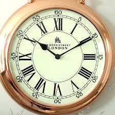 stop watch wall clocks copper wall clocks large copper stop watch style wall clock copper coloured