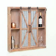 Barn Door Cabinet