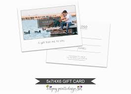 photographer gift certificate photo template pgc04
